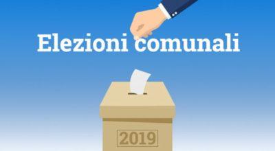 ELEZIONI COMUNALI DEL 26 MAGGIO 2019 – RISULTATI DEFINITIVI