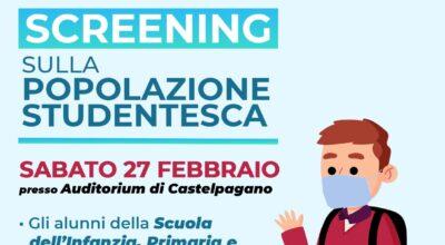 Screening sulla popolazione studentesca